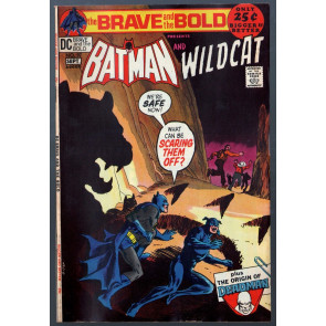 Brave and the Bold (1955) #97 VG/FN (5.0) Batman & Wildcats 52 page giant