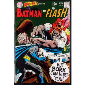 Brave and the Bold (1955) #81 FN (6.0) featuring Batman & Flash Neal Adams