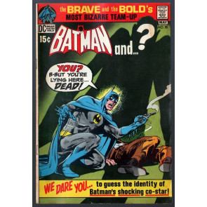Brave and the Bold (1955) #95 VG/FN (5.0) Batman & Plastic Man