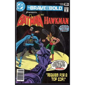 Brave and the Bold (1955) #138 FN- (5.5) Batman & Hawkman Jim Aparo cover & art