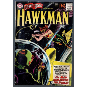 Brave and the Bold #45 VG+ (4.5) Hawkman 2nd tryout series