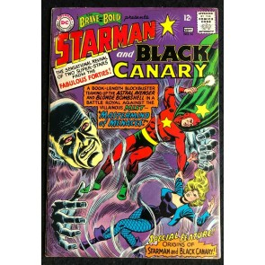 Brave and the Bold (1955) #61 VG+ (4.5) Origin Starman and Black Canary
