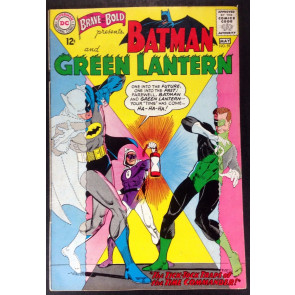 Brave and the Bold (1955) #59 FN/VF (7.0) Batman Green Lantern team up