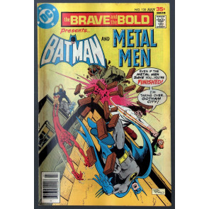 Brave and the Bold (1955) #135 VG/FN (5.0) Batman & Metal Men Aparo art