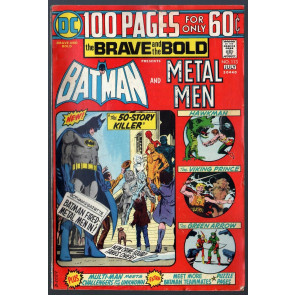 Brave and the Bold (1955) #113 VG+ (4.5) Batman & Metal Men 100pg Giant