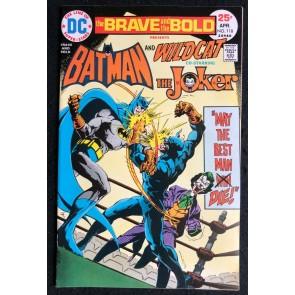 Brave and the Bold (1955) #118 VF (8.0) Batman Joker Wildcat