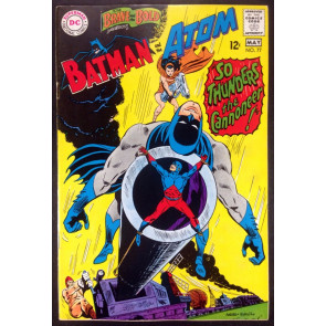 Brave and the Bold (1955) #77 VF- (7.5) Batman and Atom