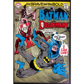 Brave and the Bold (1955) #86 FN/VF (7.0) featuring Batman & Deadman Neal Adams