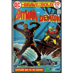 Brave and the Bold (1955) #109 FN (6.0) Batman & Demon Aparo Cover & art