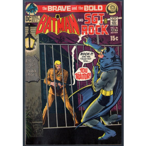 Brave and the Bold (1955) #96 VG/FN (5.0) Batman & Sgt.Rock