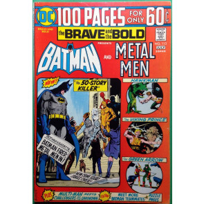 Brave and the Bold (1955) #113 FN+ (6.5) featuring Metal Men 100 pages