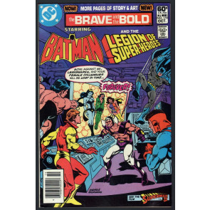 Brave and the Bold (1955) #179 FN- (5.5) Batman & Legion of the Super-Heroes