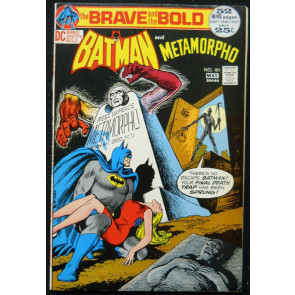 BRAVE AND THE BOLD #101 VF+ BATMAN AND METAMORPHO KUBERT VIKING PRINCE