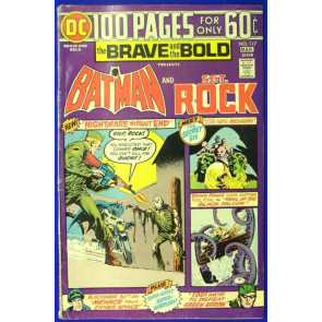 BRAVE AND THE BOLD #117 VG/FN 100 PAGE SPECTACULAR