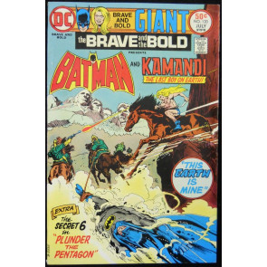 BRAVE AND THE BOLD #120 FN/VF KAMANDI