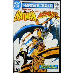 BRAVE AND THE BOLD #170 VF+ NEMESIS