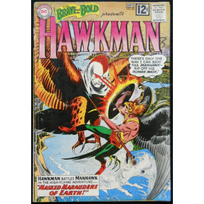 BRAVE AND THE BOLD #43 VG HAWKMAN BY KUBERT