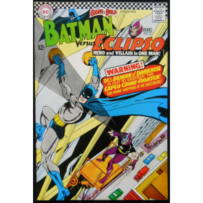 BRAVE AND THE BOLD #74 FN/VF BATMAN VS ECLIPSO