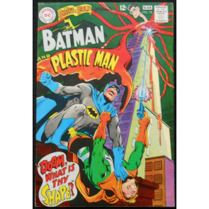 BRAVE AND THE BOLD #76 FN+ PLASTIC MAN NEAL ADAMS