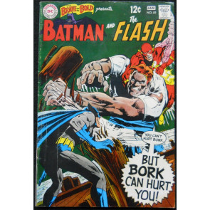 BRAVE AND THE BOLD #81 VG BATMAN AND THE FLASH NEAL ADAMS