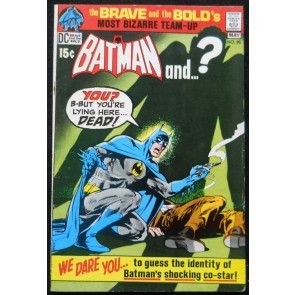 BRAVE AND THE BOLD #95 FN/VF BATMAN AND PLASTIC MAN