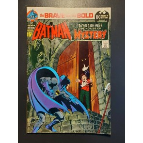 BRAVE AND THE BOLD #93 (1971) VG+ BATMAN/HOUSE OF MYSTERY NEAL ADAMS ARTWORK! |
