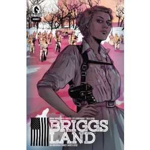Briggs Land (2016) #1 & #2 NM (9.4) 1st print Brian Wood (DMZ) Dark Horse Comics