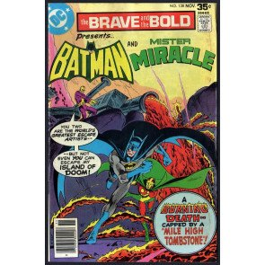 Brave and the Bold (1955) #138 FN- (5.5) Batman & Mr. Miracle Jim Aparo art