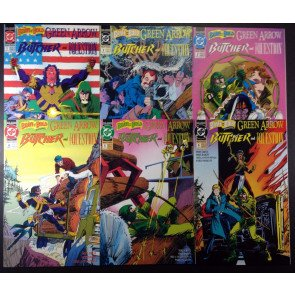 Brave and the Bold (1991) 1 2 3 4 5 6 complete set with Green Arrow Mike Grell