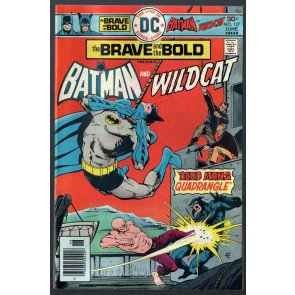 Brave and the Bold (1955) #127 FN- (5.5) Batman & Wildcat Aparo cover & art