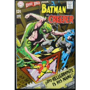 BRAVE AND THE BOLD #80 VF BATMAN AND THE CREEPER NEAL ADAMS