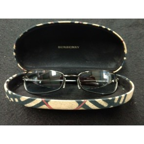 Burberry Mens Vintage Metal Sunglasses B 8972/S 6LB14 6217 Pre-Owned With Case