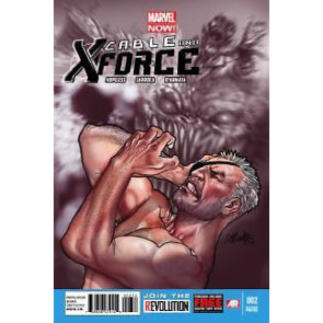 CABLE AND X-FORCE #2 NM 2ND PRINTING VARIANT COVER MARVEL NOW!