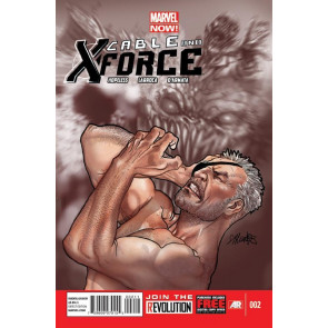 CABLE AND X-FORCE #2 NM MARVEL NOW!