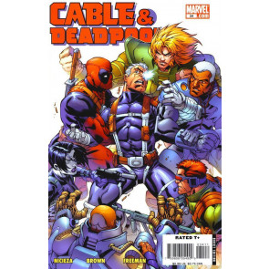 CABLE & DEADPOOL #34 VF MARK BROOKS COVER