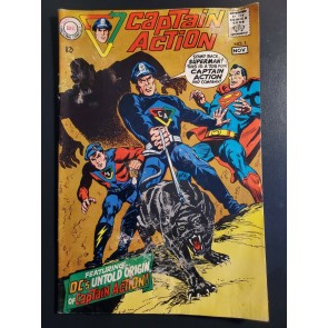 CAPTAIN ACTION #1 1968 G+ (2.5) ORIGIN & 1ST APP Of CAPTAIN ACTION & ACTION BOY|