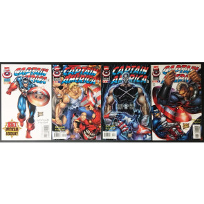 Captain America (1996) 1 2 3 4 5 6 7 8 9 10 11 12 13 complete vol. 2 set Liefeld