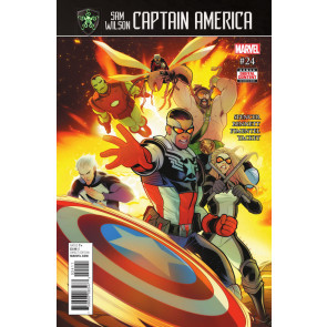 Captain America Sam Wilson (2015) #24 VF/NM