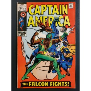 Captain America (1968) #118 FN/VF (7.0) 2nd App Falcon |