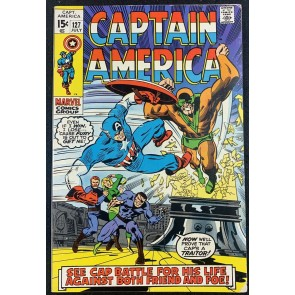 Captain America (1968) #127 VG/FN (5.0) Vs Android X-4 Nick Fury App