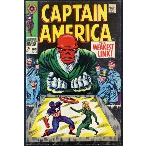 Captain America (1968) #103 FN (6.0) Red Skull