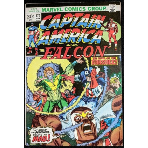 Captain America (1968) #172 VG (4.0) X-Men appearance