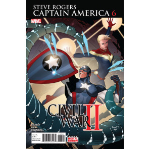 Captain America:Steve Rogers (2016) #6 VF/NM Civil War II
