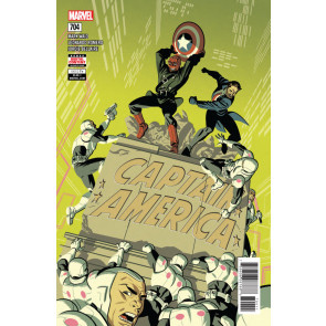 Captain America (2017) #704 VF/NM