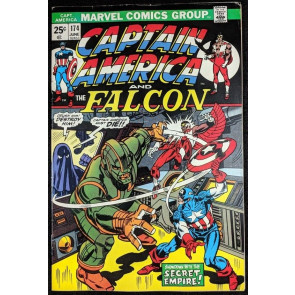 Captain America (1968) #174 VF- (7.5) X-Men appearance