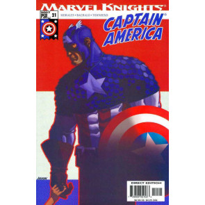 "Captain America (2002) #'s 21 22 23 24 25 26 27 28 ""Homeland"" Marvel Knights Set"