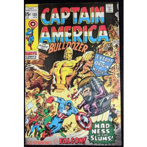Captain America (1968) #133 VF (8.0) Falcon Cap's partner MODOK origin