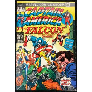 Captain America (1968) #173 VF+ (8.5) co-starring Falcon X-Men story pt 2 of 4