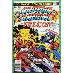 Captain America (1968) & Falcon #205 NM- (9.2) Jack Kirby cover, art & script