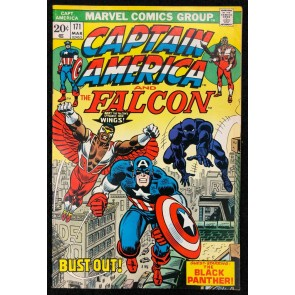 Captain America (1968) #171 VF+ (8.5) co-starring Falcon Black Panther cover